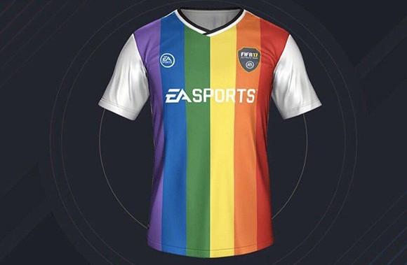 Il kit incriminato, disponibile per la modalità Ultimate Team di FIFA 17
