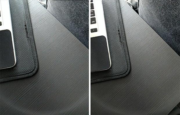 Il problema legato all'alone di luce prodotto dalla fotocamera di Google Pixel e Pixel XL: a sinistra un'immagine scattata prima dell'aggiornamento, a destra quella realizzata in seguito all'installazione dell'update