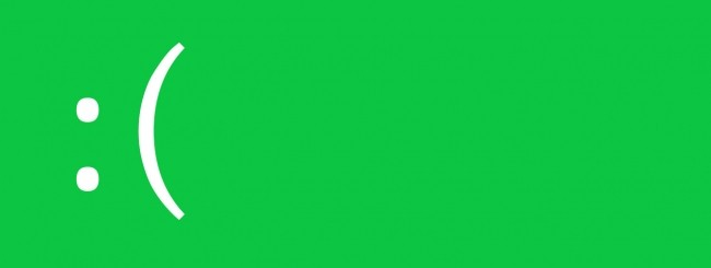 Green Screen of Death