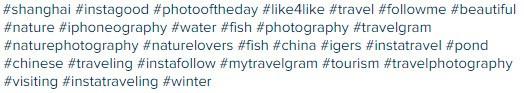 L'utilizzo degli hashtag su Instagram: c'è chi ne abusa