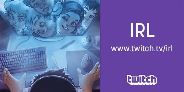 Twitch lancia oggi il canale IRL, attraverso il quale trattare qualsiasi tema, non solo quelli legati al gaming