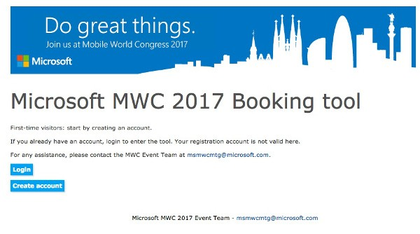 Microsoft sarà presente al Mobile World Congress