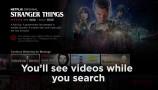 Netflix: anteprime contenuti nell'interfaccia TV