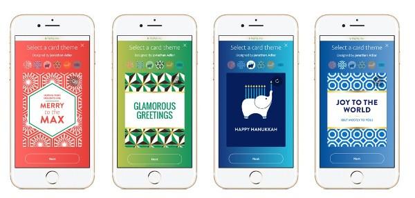 PayPal, carte regalo personalizzate per Natale