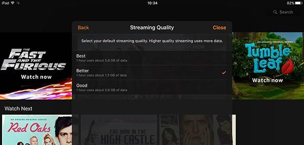 Qualità Amazon Prime Video