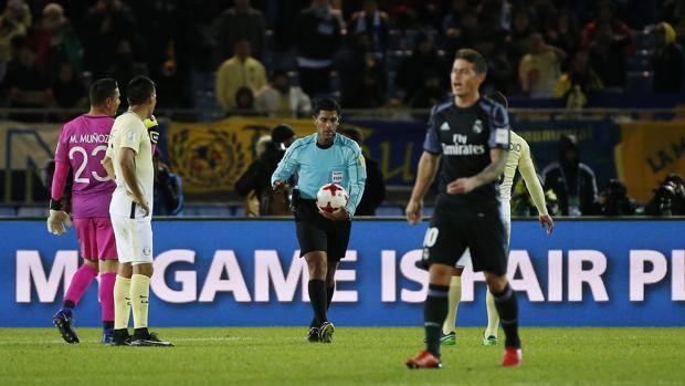 Confusione anche in occasione del gol di Cristiano Ronaldo durante la partita fra América e Real Madrid