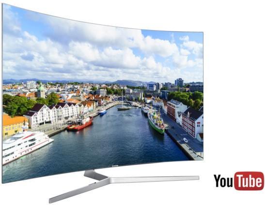Samsung garantirà il supporto allo streaming dei video HDR di YouTube sui televisori della linea Quantum dot commercializzati a partire dal 2016