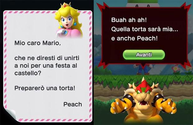 Super Mario Run: la principessa Peach fa le torte, Bowser la vuole rapire