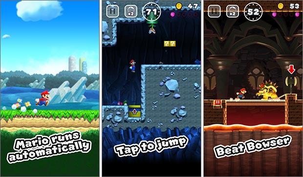 Screenshot per Super Mario Run