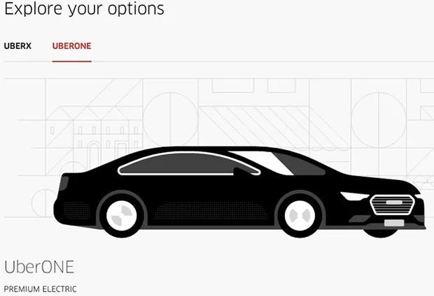 Le auto elettriche di Tesla sono a disposizione di chi sceglie il servizio UberONE a Madrid