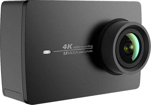 La nuova action camera Yi 4K+ di Xiaomi, in grado di effettuare registrazione video a risoluzione 4K e con un framerate pari a 60 fps