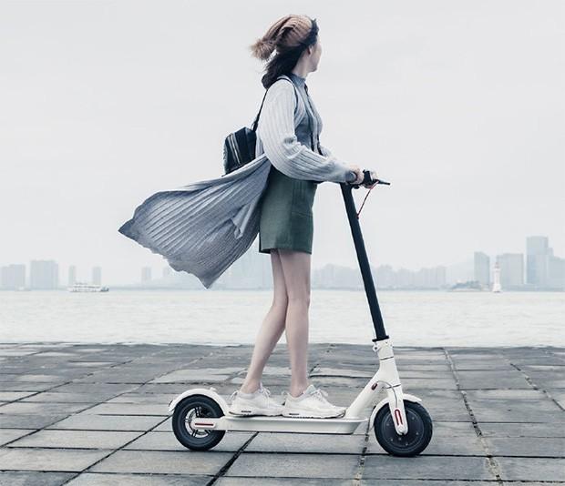 Lo scooter elettrico e pieghevole di Xiaomi, commercializzato in Cina con il marchio MIJIA