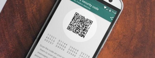 WhatsApp security code