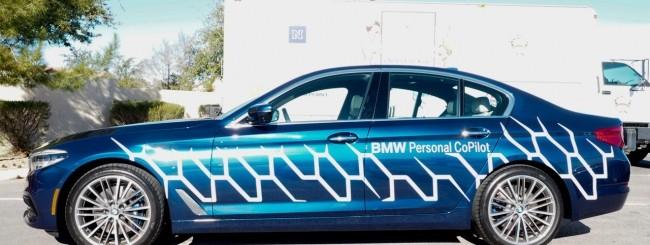 CES 2017, BWM svela il suo autopilot