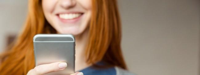 Capelli Rossi e iPhone