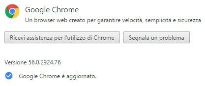 La versione stable del browser Google Chrome è stata aggiornata alla release 56 su computer Windows, macOS e Linux