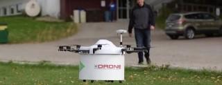 La consegne con i droni in Canada