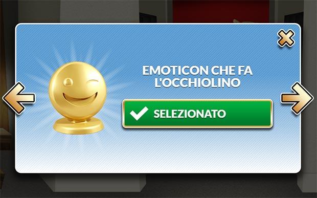 Una delle emoticon che potrebbero diventare pedine del Monopoly