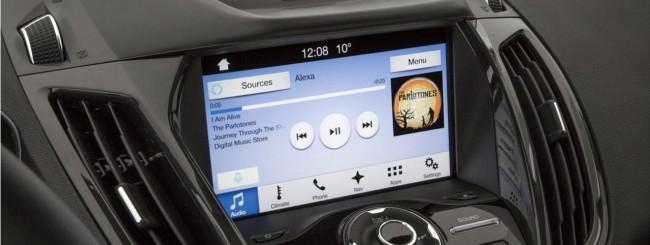CES 2017, Ford porta Amazon Echo sulle auto