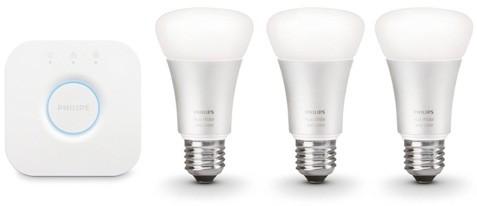 Le lampadine LED smart della linea Philips Hue, compatibili con la piattaforma Work with Nest