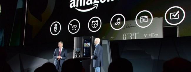 CES 2017, Amazon Alexa entra nel frigo di LG