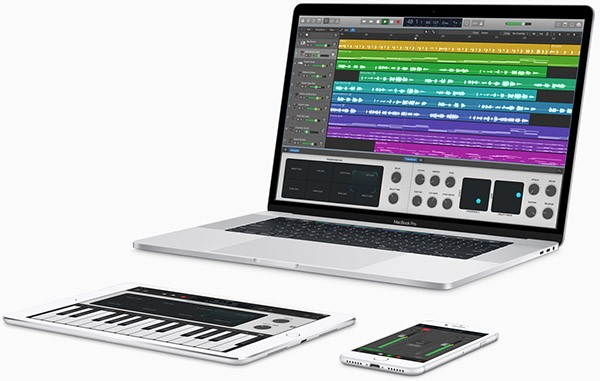 Logic Pro e Garage Band
