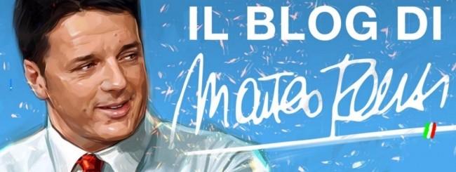 matteo renzi blog