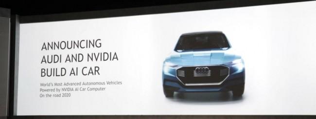 CES 2017, NVIDIA ed Audi per la guida autonoma