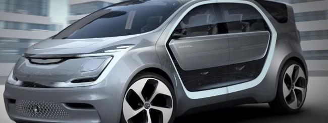 CES 2017, FCA svela il minivan a guida autonoma