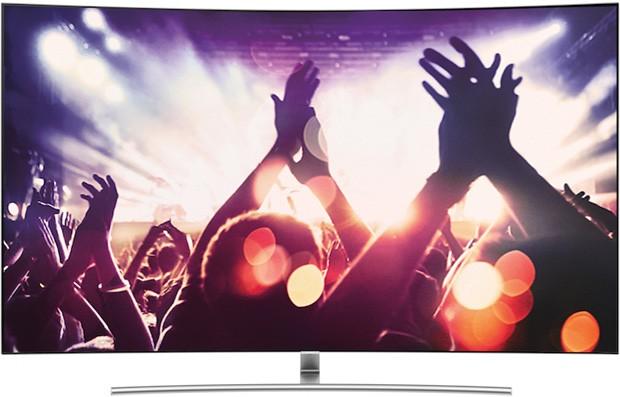 Samsung 65Q8, uno dei nuovi televisori con tecnologia QLED presentati al CES 2017