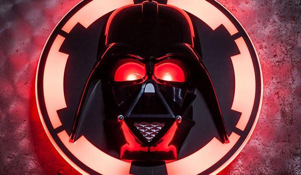 Regali per lui, lampada Darth Vader