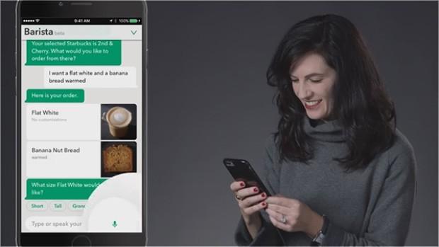 My Starbucks Barista: l'intelligenza artificiale nell'app delle caffetterie