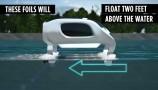 SeaBubbles: trasporto 100% elettrico a pelo d'acqua