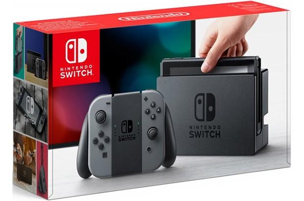 La confezione della console Nintendo Switch