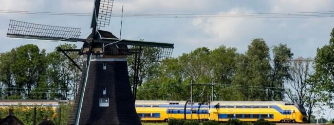 In Olanda i treni sono alimentati dal vento