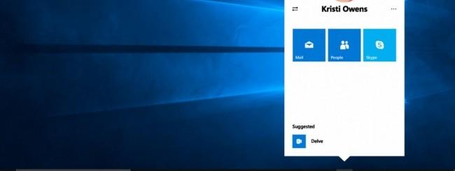 Windows 10, My People rinviato a Redstone 3