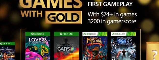 Microsoft svela i Games with Gold di febbraio