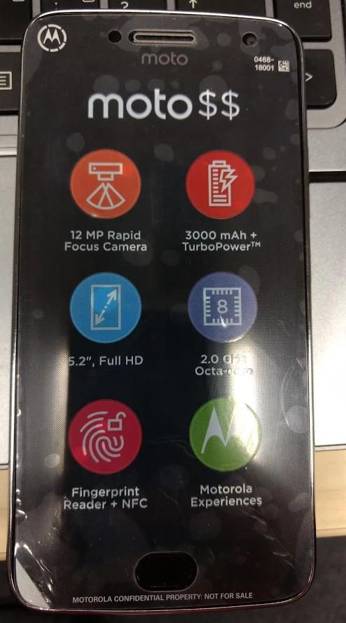 Moto G5 Plus leak
