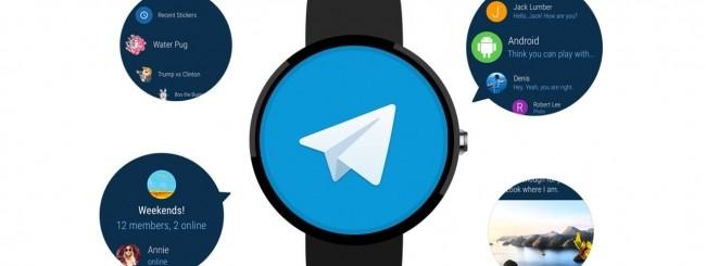 Telegram per Android Wear 2.0