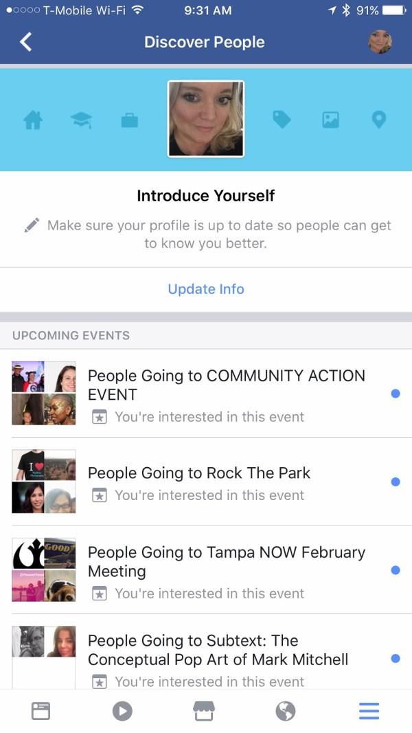 Facebook rende più facile conoscere le persone