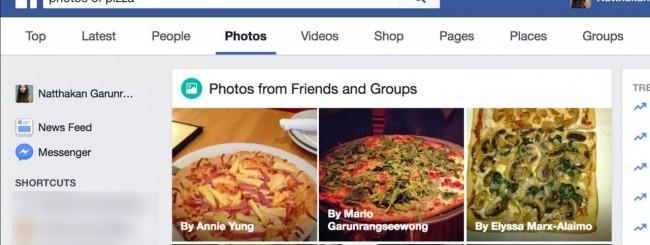 Facebook, più facile trovare le immagini