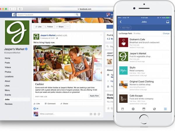 Facebook per trovare lavoro