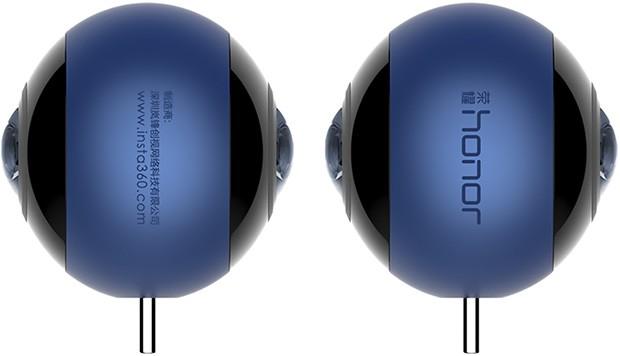 La videocamera a 360 gradi Honor VR per la realtà virtuale, progettata in partnership con Insta360