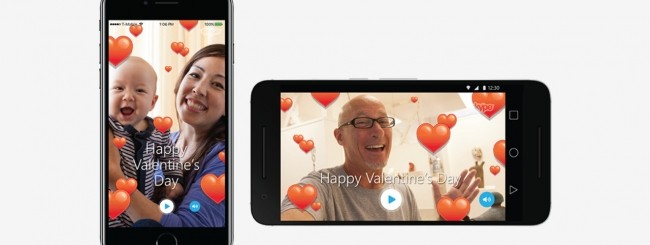 Skype San valentino