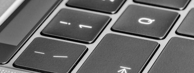 Tastiera MacBook Pro