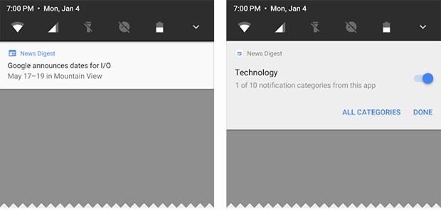 Il sistema di notifiche integrato in Android O offre una maggiore libertà agli utenti in termini di gestione