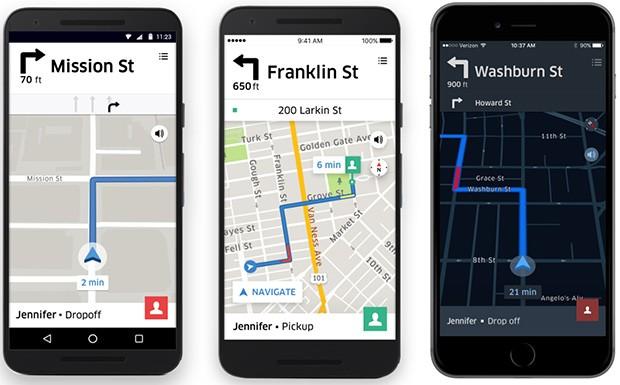 Uber migliora l'interfaccia dedicata alla navigazione stradale messa a disposizione dei propri autisti
