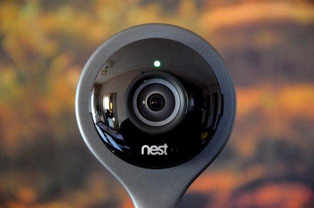 Nest Cam Indoor: parte frontale