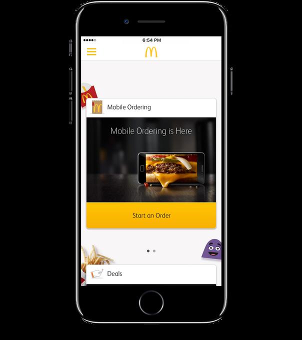 McDonald's mobile order