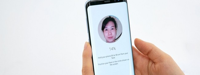 Samsung Galaxy S8 - Autenticazione biometrica